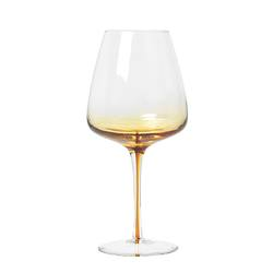 Buy Amber red wine glass in NZ New Zealand.