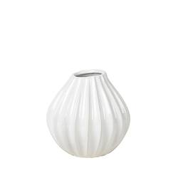 Broste wide lines vase small