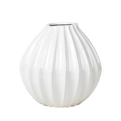 Broste wide lines vase medium