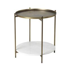 Buy Broste marble & iron table in NZ New Zealand.