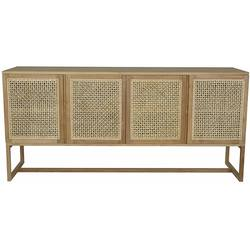 Buy Woven willow buffet / sideboard in NZ New Zealand.