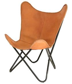 Buy Leather butterfly chair in NZ New Zealand.