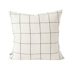 Buy Linen grid cushion cover in NZ New Zealand.