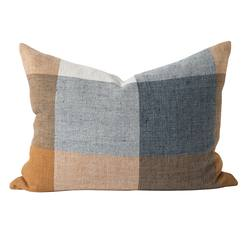 Buy Morrison linen check cushion cover in NZ New Zealand.