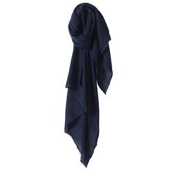 Buy Wool silk scarf navy in NZ New Zealand.