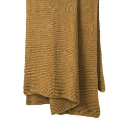 Buy Purl knit cotton throw in NZ New Zealand.