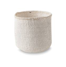 Buy Kiondo basket small - white in NZ New Zealand.
