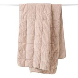 Buy Velvet quilted throw clay in NZ New Zealand.