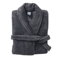 Men's dressing gown herringbone