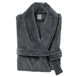 Men's dressing gown gunmetal