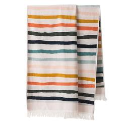 Terry beach towel striped