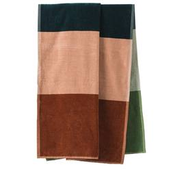 Horizon velour beach towel