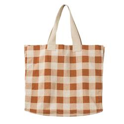 Buy Gingham beach bag in NZ New Zealand.