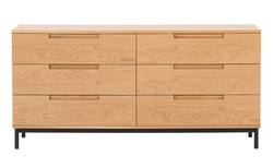 Buy Minimalist oak bureau lowboy in NZ New Zealand.