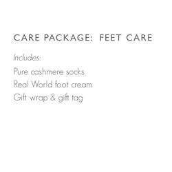 Care package: Feet