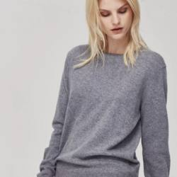 Buy Cashmere crew neck knit in NZ New Zealand.