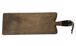 Grey wash narrow serving board