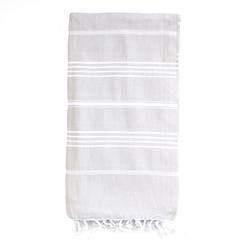 Buy Classic Turkish towel pale grey in NZ New Zealand.