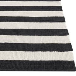 Buy Cotton striped floor rug in NZ New Zealand.