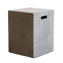 Buy Concrete cube stool/side table in NZ New Zealand.