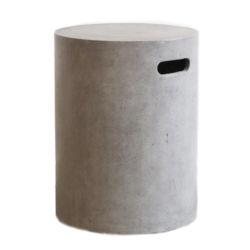 Buy Round concrete stool/side table in NZ New Zealand.