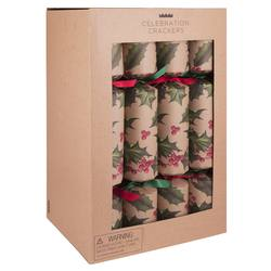 Buy Eco Christmas crackers (12) in NZ New Zealand.