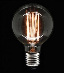 Buy Edison filament dolly bulb 95mm in NZ New Zealand.