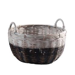 Buy Two tone rattan basket small in NZ New Zealand.