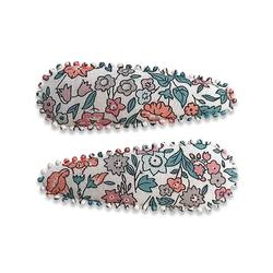 Buy Liberty fabric hair clips Ella in NZ New Zealand.
