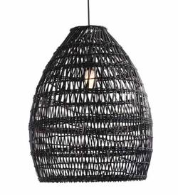 Firth rattan shade black large
