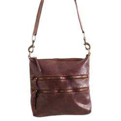 Buy Juju & Co Florence messenger leather bag in NZ New Zealand.