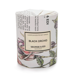 Buy George & Edi candle Black Orchid in NZ New Zealand.