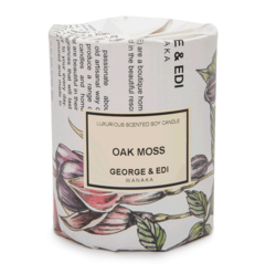 George & Edi candle Oak Moss