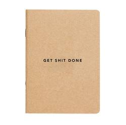 Buy Get shit done notebook A5 in NZ New Zealand.