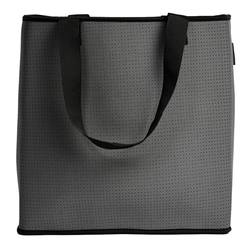 Neoprene go-to everyday bag charcoal