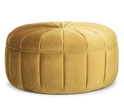 Buy Large button ottoman in NZ New Zealand.