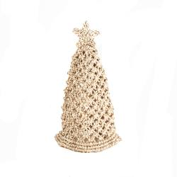 Hand crafted macrame Christmas tree