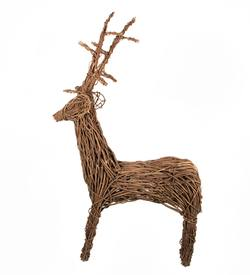 Twisted vine freestanding reindeer medium