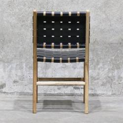Prime Woven Leather Dining Chair Black In Nz Green With Envy Theyellowbook Wood Chair Design Ideas Theyellowbookinfo