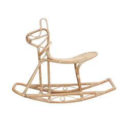 Buy Kids rattan rocking horse in NZ New Zealand.