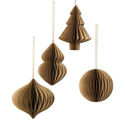 Magnetic paper hanging decos