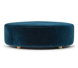 Buy Large round ottoman in NZ New Zealand.