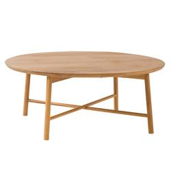 Large radial coffee table 95cm
