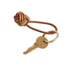 Buy Leather knot keyring in NZ New Zealand.