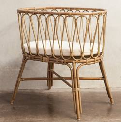 Buy Lettino rattan bassinet in NZ New Zealand.