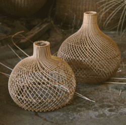Buy Lift off rattan light shade in NZ New Zealand.
