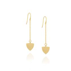 Linda Tahija The Transit chain drop earrings