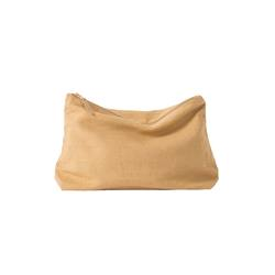 Linen wash bag citron