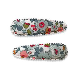 Liberty fabric hair clips Izzy