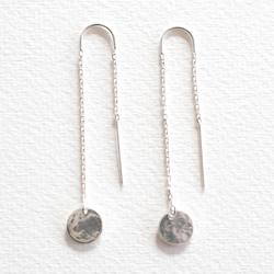 Buy LoveHate hammered earrings in NZ New Zealand.